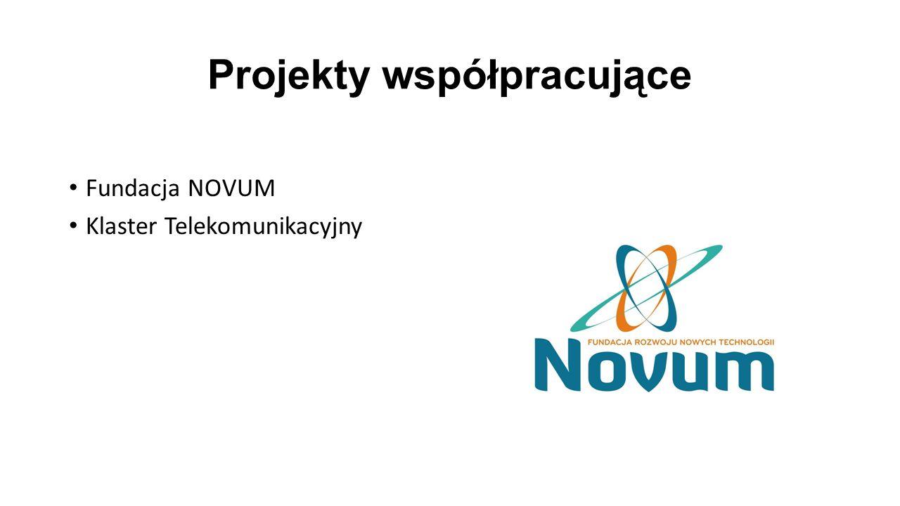 Projekty współpracujące Fundacja NOVUM Klaster Telekomunikacyjny