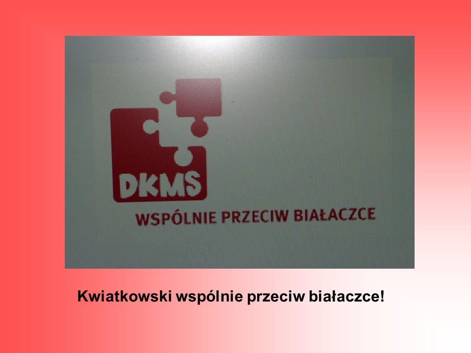 Kwiatkowski wspólnie przeciw białaczce!