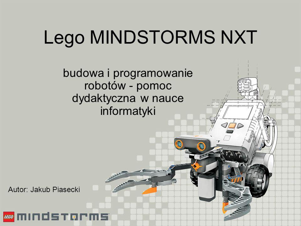 Wykorzystanie na lekcjach Podstawy algorytmiki, Programowanie, Modelowanie i symulacje, Zajęcia dodatkowe (robotyka).
