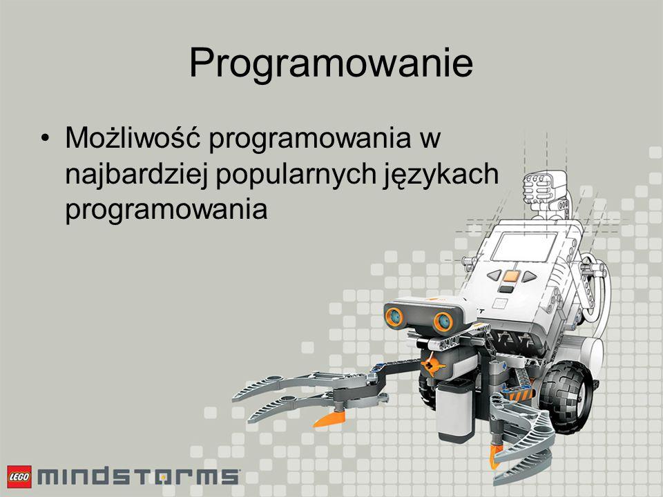 Programowanie Język NXT-G – graficzny język wysokiego poziomu