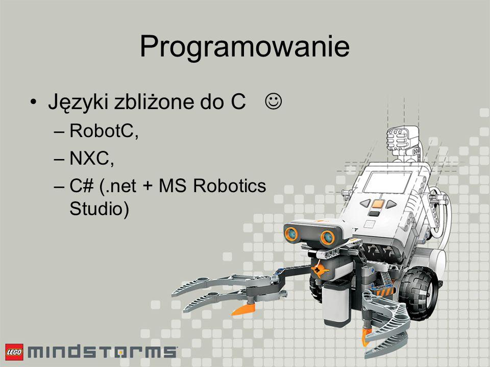 Programowanie Inne języki: –Python, –Java, –VB, –Assembler, –…