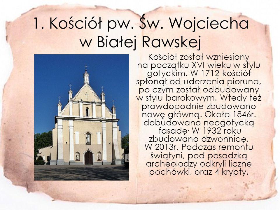 1.Kościół pw. Św.