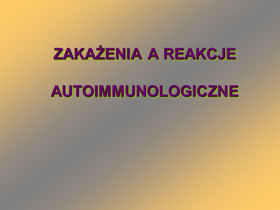 REUMATOIDALNE ZAPALENIE STAWÓW Kom.prezentujące antg.