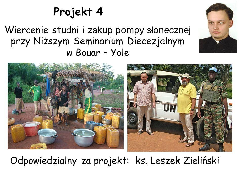 Odpowiedzialny za projekt: ks.
