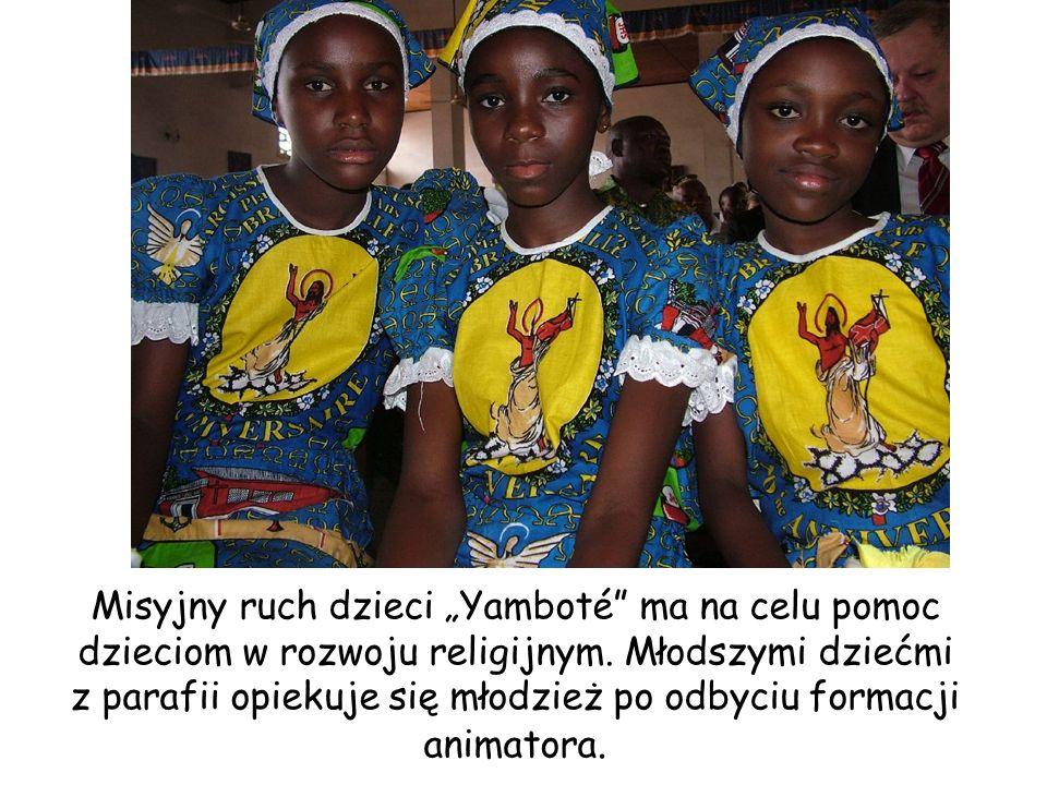 """Misyjny ruch dzieci """"Yamboté ma na celu pomoc dzieciom w rozwoju religijnym."""