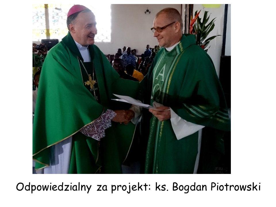 Odpowiedzialny za projekt: ks. Bogdan Piotrowski