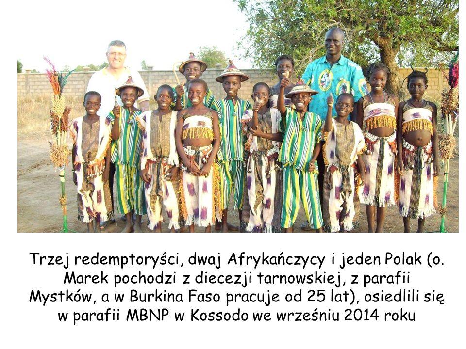 Trzej redemptoryści, dwaj Afrykańczycy i jeden Polak (o.
