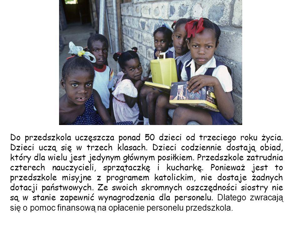 Do przedszkola uczęszcza ponad 50 dzieci od trzeciego roku życia.