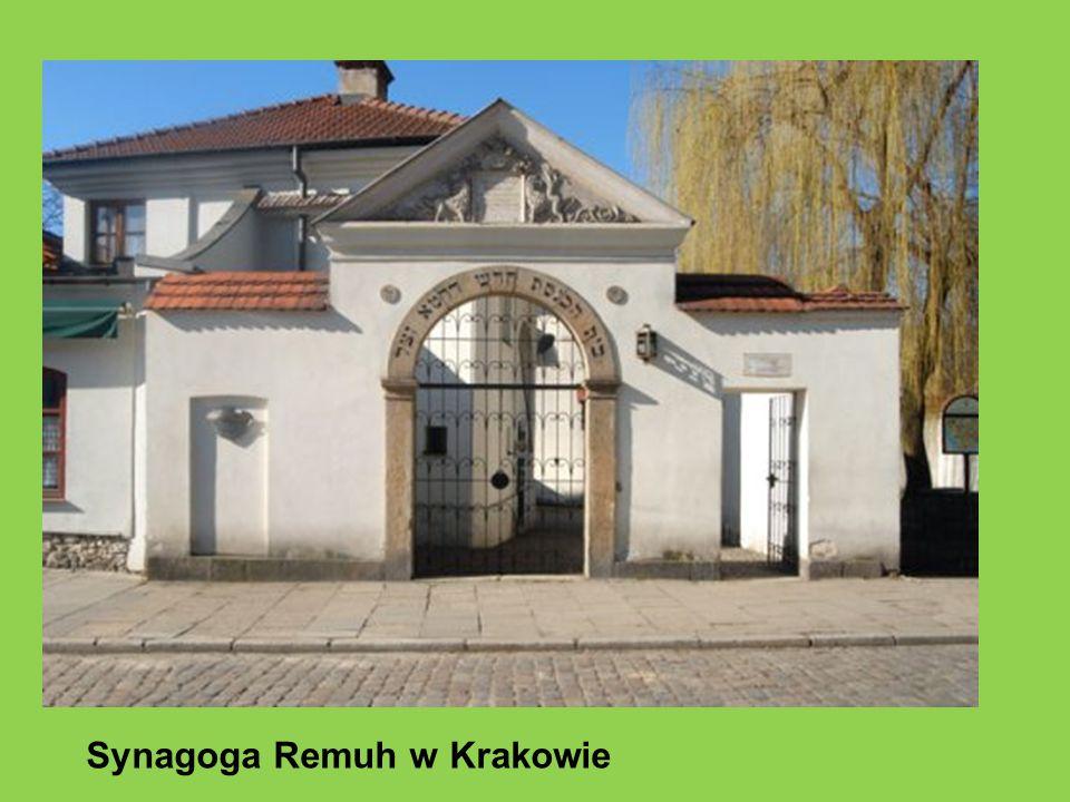 Synagoga Remuh w Krakowie
