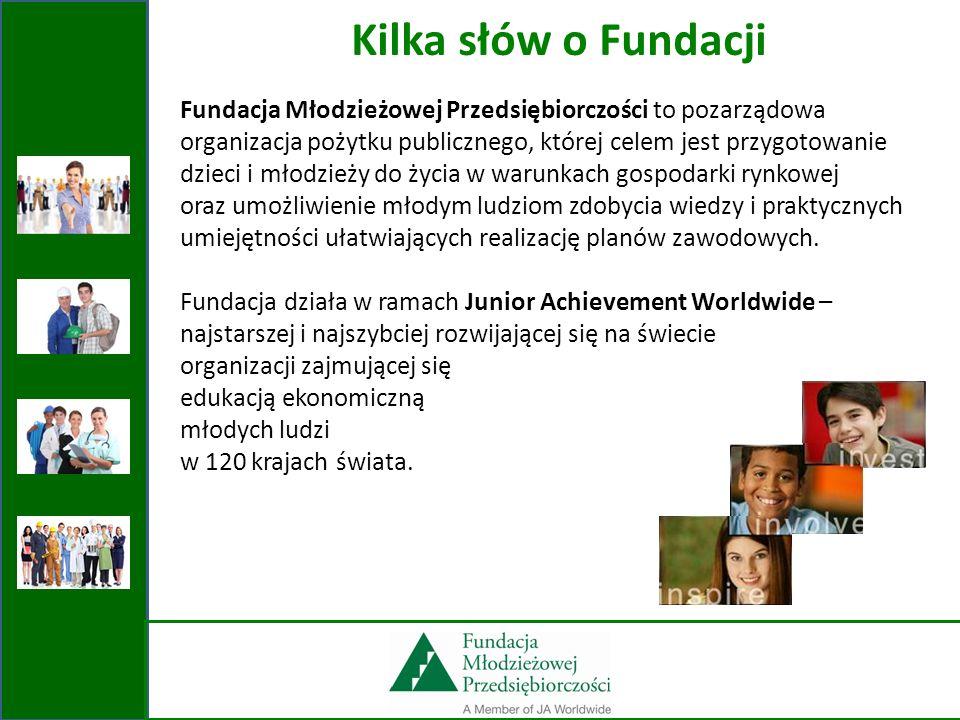 Fundacja Młodzieżowej Przedsiębiorczości to pozarządowa organizacja pożytku publicznego, której celem jest przygotowanie dzieci i młodzieży do życia w