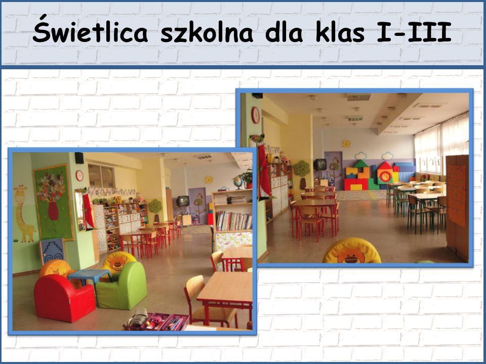 Sale lekcyjne w klasach IV-VI