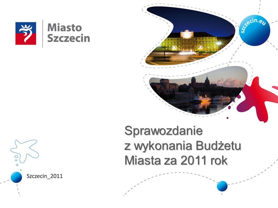 Sprawozdanie z wykonania Budżetu za 2011 rok Dochody bieżące – realizacja planu subwencji Plan po zmianach WykonanieWsk.
