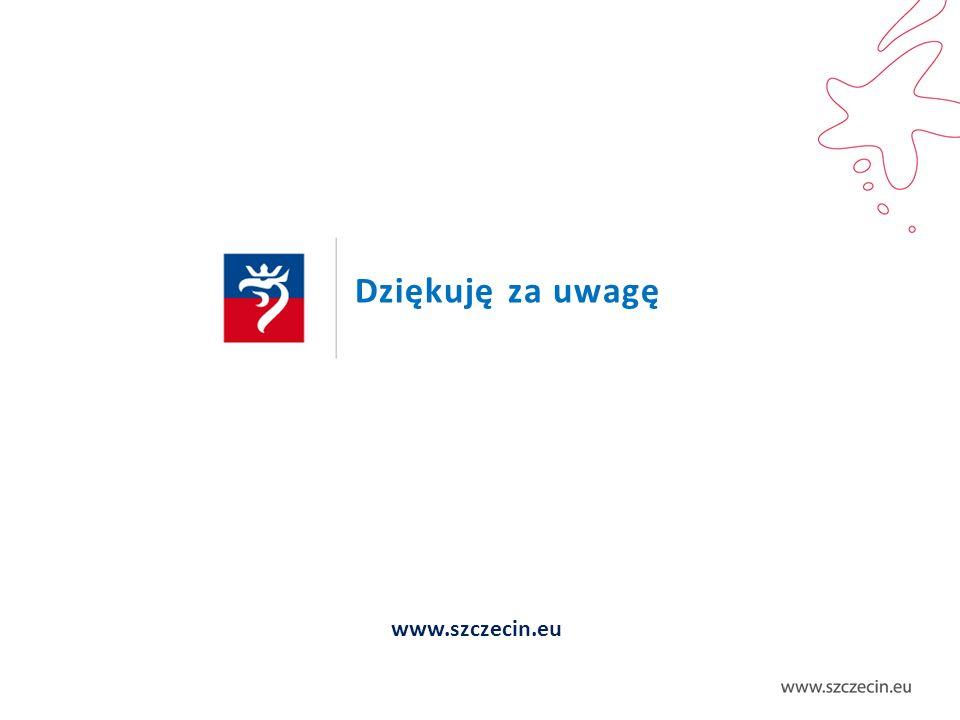 Dziękuję za uwagę www.szczecin.eu
