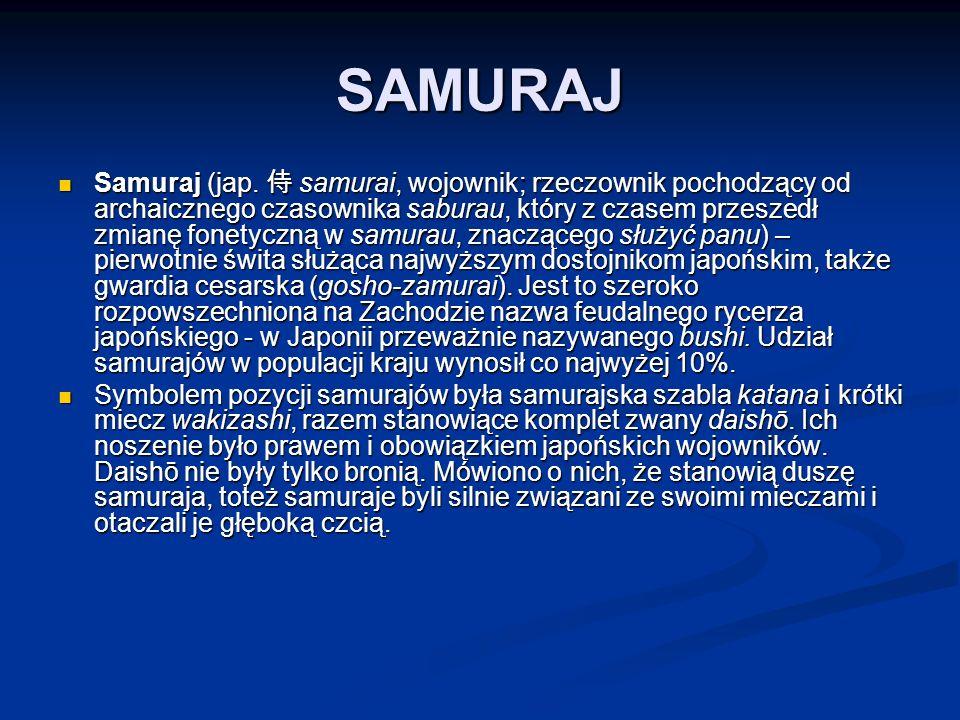 SAMURAJ Samuraj (jap.