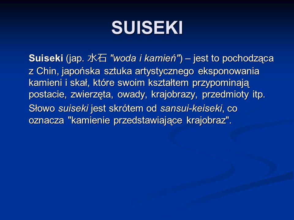 SUISEKI Suiseki (jap.