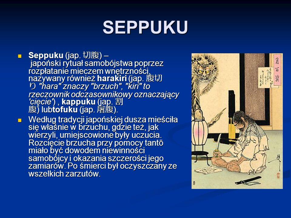 SEPPUKU Seppuku (jap.