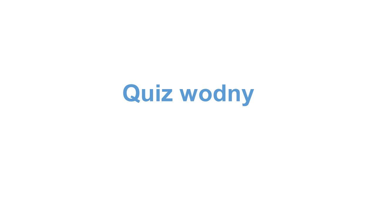 Quiz wodny