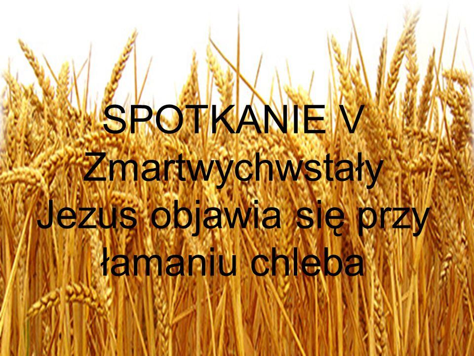 SPOTKANIE V Zmartwychwstały Jezus objawia się przy łamaniu chleba