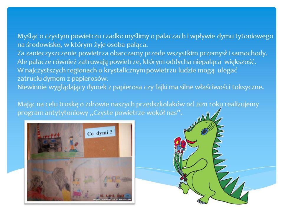 """Wykorzystując potencjał dzieci i naturalną potrzebę kontaktu z przyrodą, w roku szkolnym 2012/2013 zrealizowaliśmy projekt edukacyjny """"My i środowisko ."""