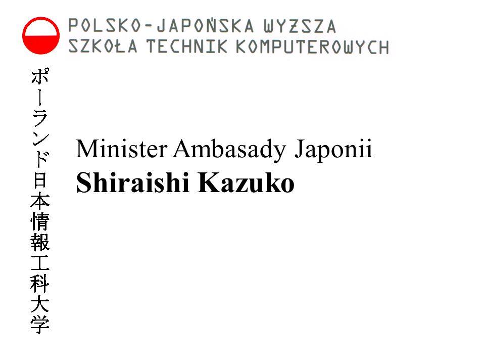 Minister Ambasady Japonii Shiraishi Kazuko