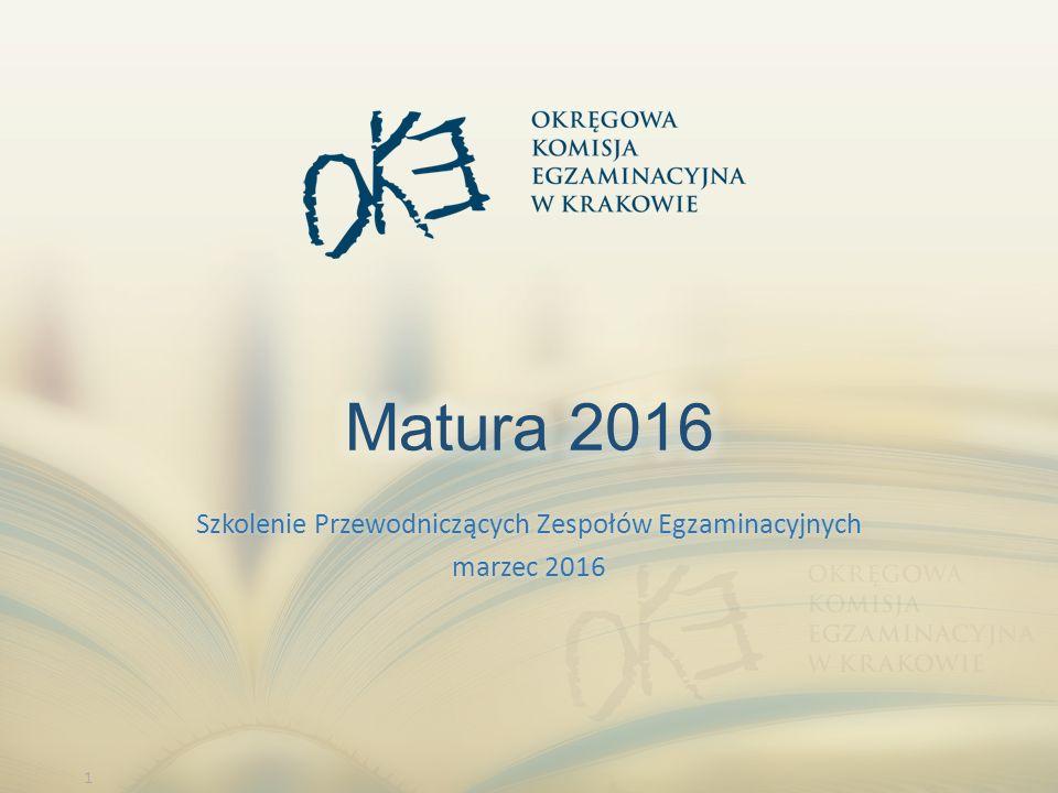 2 Przepisy w sprawie egzaminu maturalnego