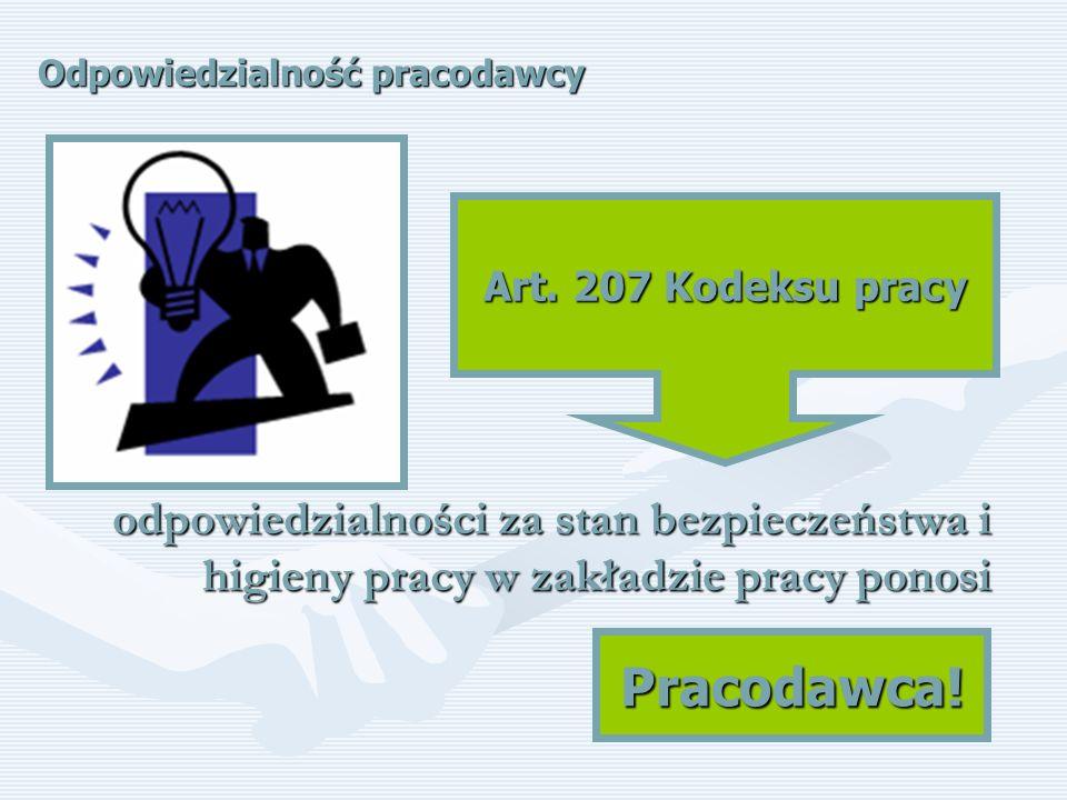Wypadek przy pracy – schemat postępowania Własne bezpieczeństwo Bezpieczeństwo osób przebywających w otoczeniu miejsca zdarzenia Bezpieczeństwo poszkodowanego Udzielić pierwszej pomocy poszkodowanemu (wezwanie służb ratunkowych) Zgłosić wypadek pracodawcy zgodnie z obowiązująca w zakładzie pracy procedurą Wszczęcie przez pracodawcę procedury powypadkowej
