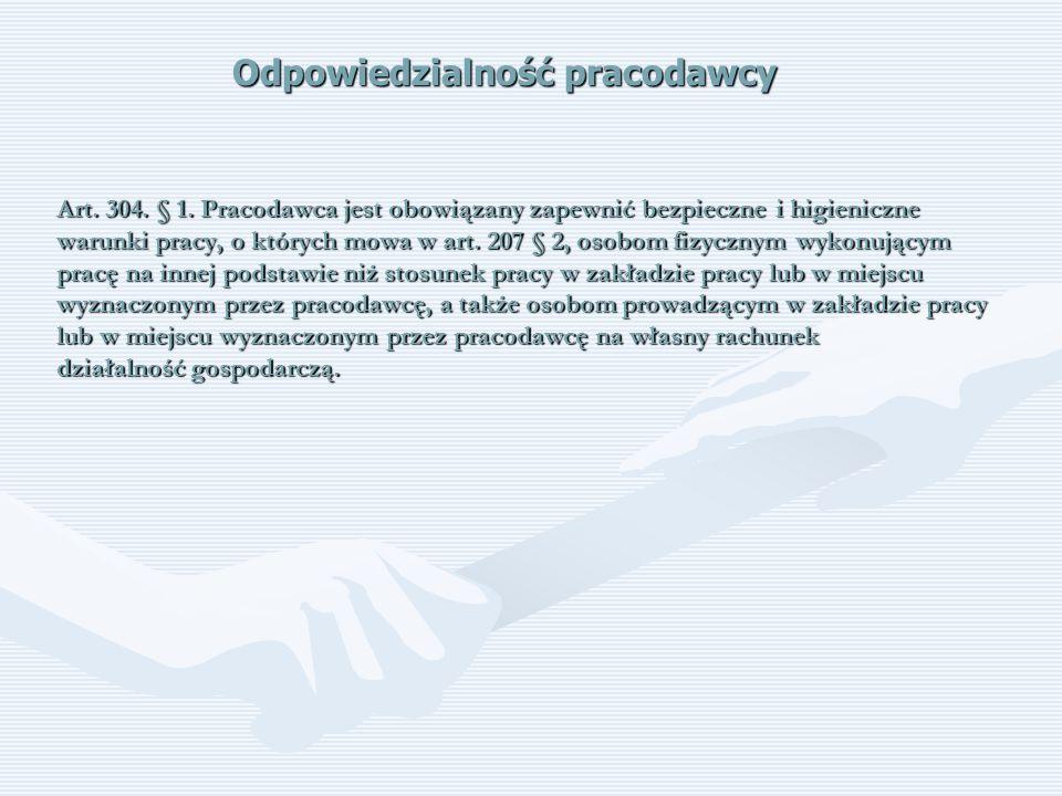 Wypadek przy pracy – procedura powypadkowa Zabezpieczyć miejsce wypadku Zgłosić wypadek do inspektora pracy i prokuratury (wypadek ciężki, śmiertelny, zbiorowy) Powołać zespół powypadkowy Sporządzić protokół powypadkowy Przekazać protokół do podpisu pracodawcy Przekazać podpisany protokół poszkodowanemu