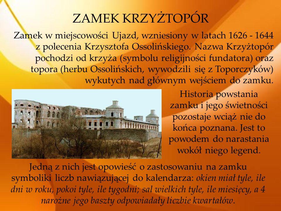 OPATÓW Znajduje się tu wiele obiektów historycznych wpisanych na listę zabytków: Kolegiata św.
