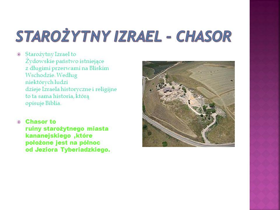  Starożytny Izrael to Żydowskie państwo istniejące z długimi przerwami na Bliskim Wschodzie.