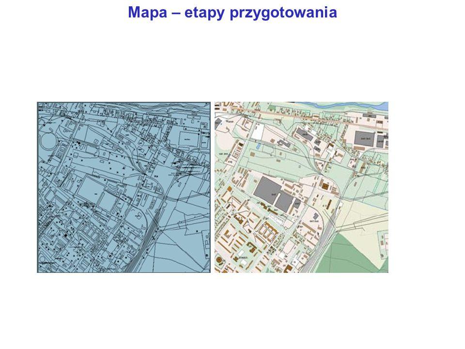 Mapa – etapy przygotowania
