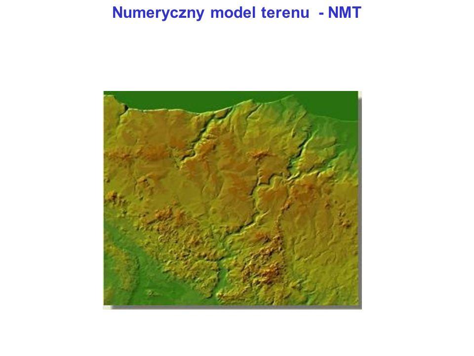 Numeryczny model terenu - NMT