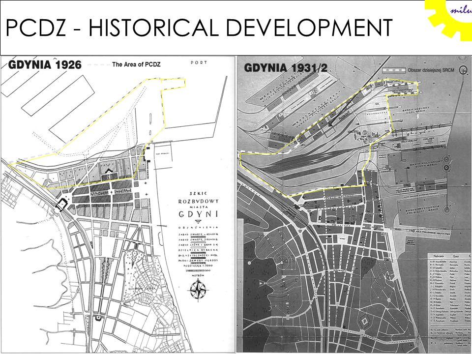 Gdynia - the cases PCDZ MF Port-City Development Zone (PCDZ) Maritime Forum (MF)