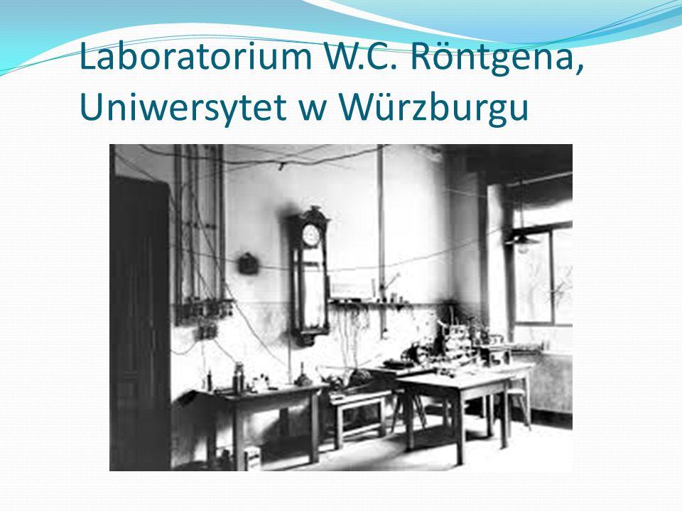 Laboratorium W.C. Röntgena, Uniwersytet w Würzburgu