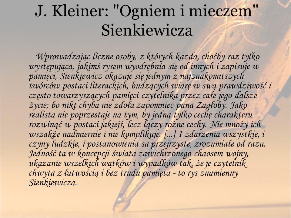 J. Kleiner: