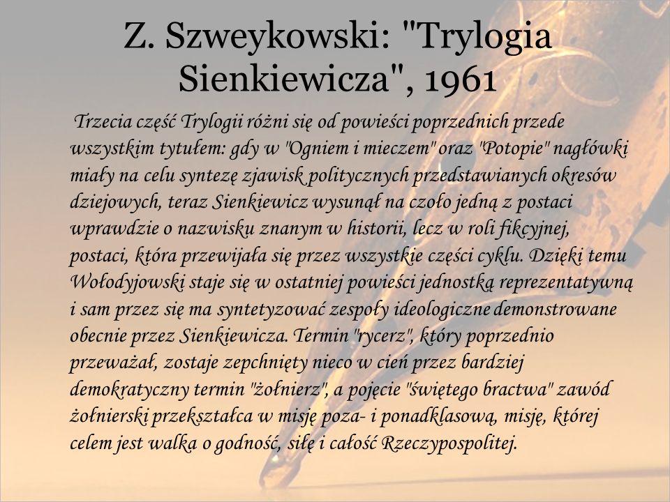Z. Szweykowski: