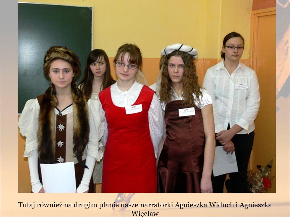 Tutaj również na drugim planie nasze narratorki Agnieszka Widuch i Agnieszka Więcław