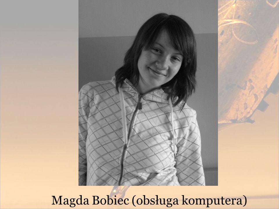 Magda Bobiec (obsługa komputera)