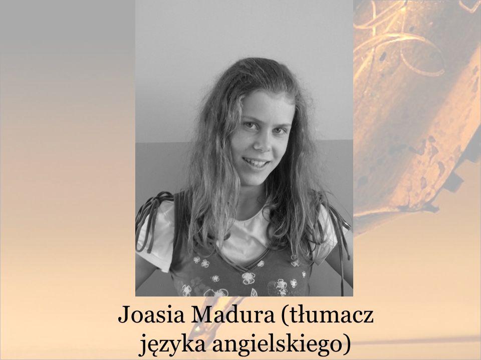 Joasia Madura (tłumacz języka angielskiego)