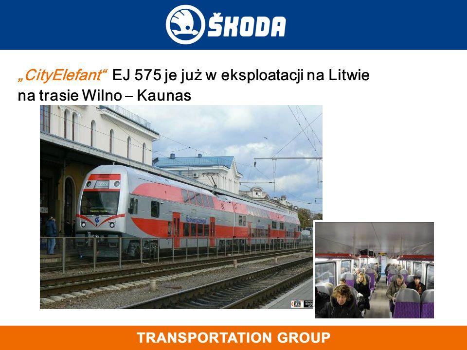 """""""CityElefant"""" EJ 575 je już w eksploatacji na Litwie na trasie Wilno – Kaunas"""