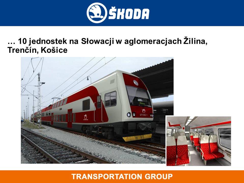 … 10 jednostek na Słowacji w aglomeracjach Žilina, Trenčín, Košice