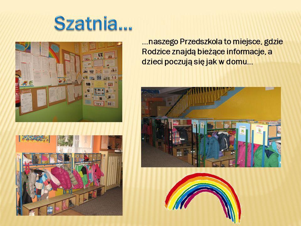 …naszego Przedszkola to miejsce, gdzie Rodzice znajdą bieżące informacje, a dzieci poczują się jak w domu…