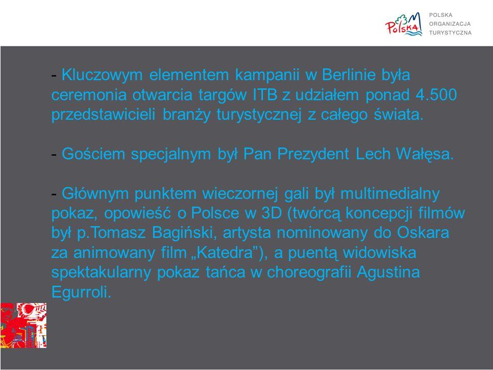 Spot wizerunkowy Wizyta w Polsce to kontakt z witalności i gościnnością Polaków Polacy to wyjątkowo otwarci, urokliwi i kontaktowi ludzie, potwierdzają to Ci, którzy już Polskę odwiedzili Gościnność Polaków jest legendarna, a w połączeniu z ich witalnością i pomysłowością gwarantuje niezapomniane wrażenia