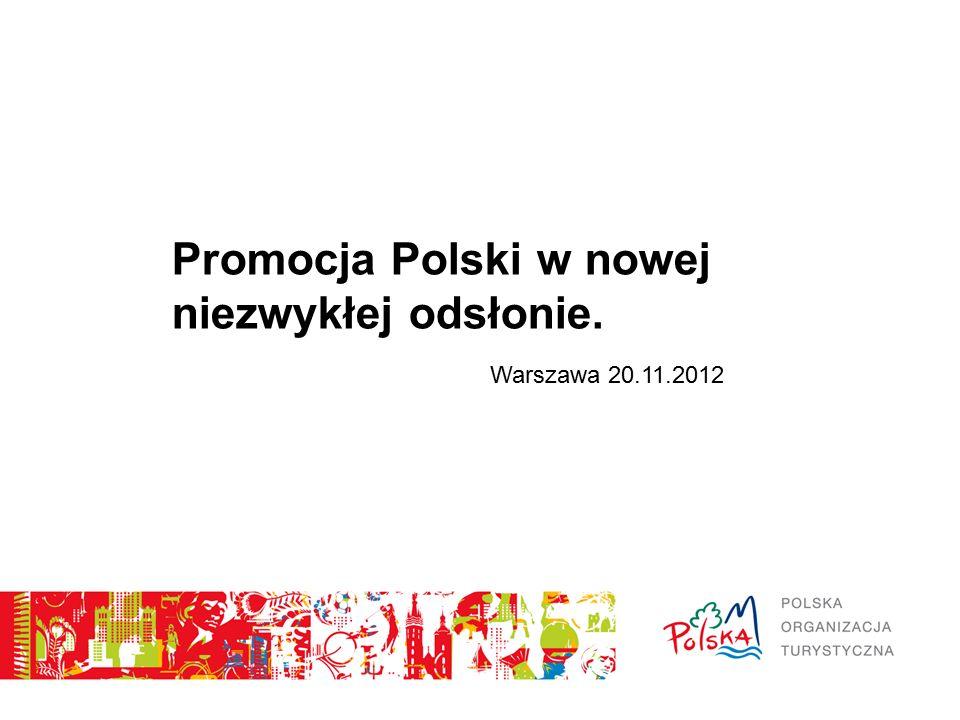 Promocja Polski w nowej niezwykłej odsłonie. Warszawa 20.11.2012