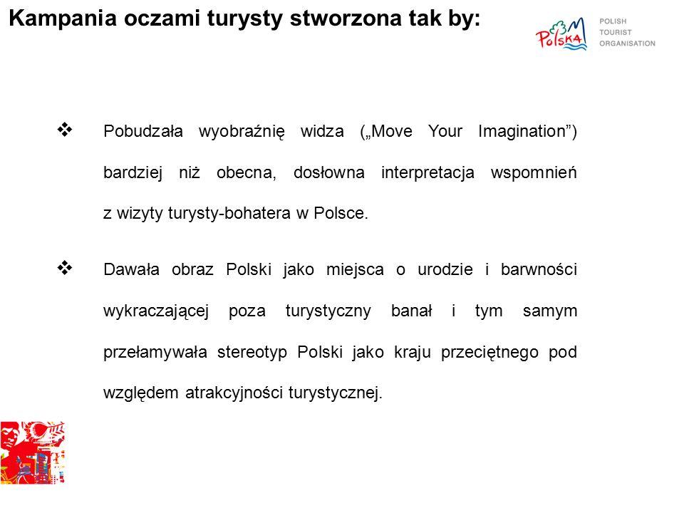 """ Pobudzała wyobraźnię widza (""""Move Your Imagination ) bardziej niż obecna, dosłowna interpretacja wspomnień z wizyty turysty-bohatera w Polsce."""