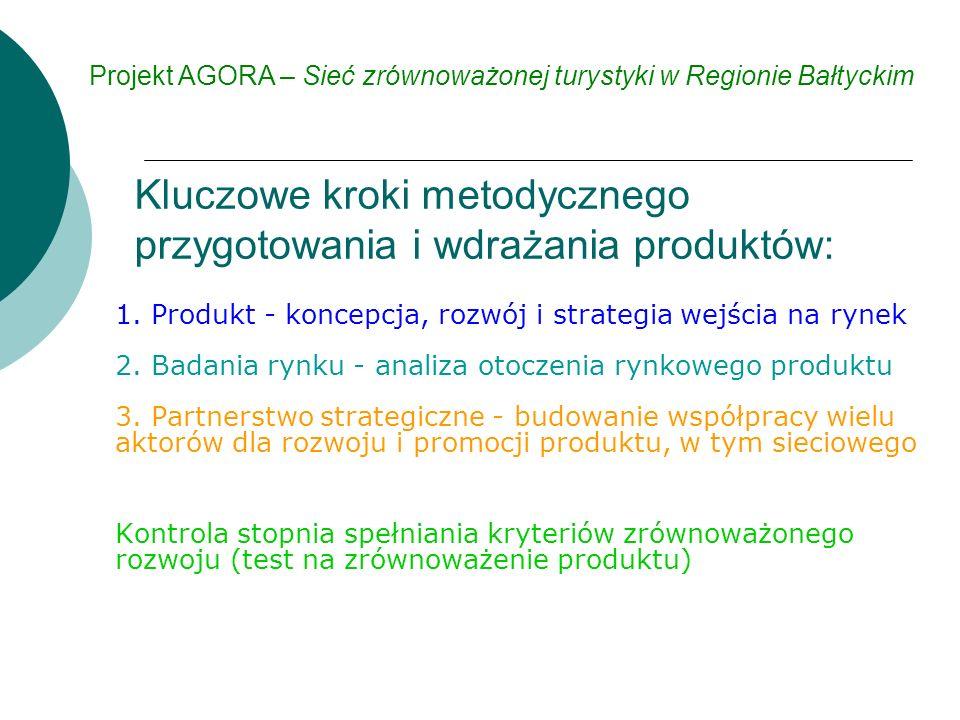 1. Produkt - koncepcja, rozwój i strategia wejścia na rynek 2.