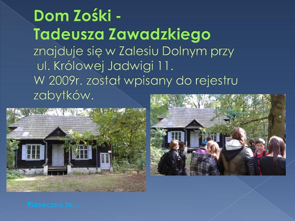 Piaseczno to…