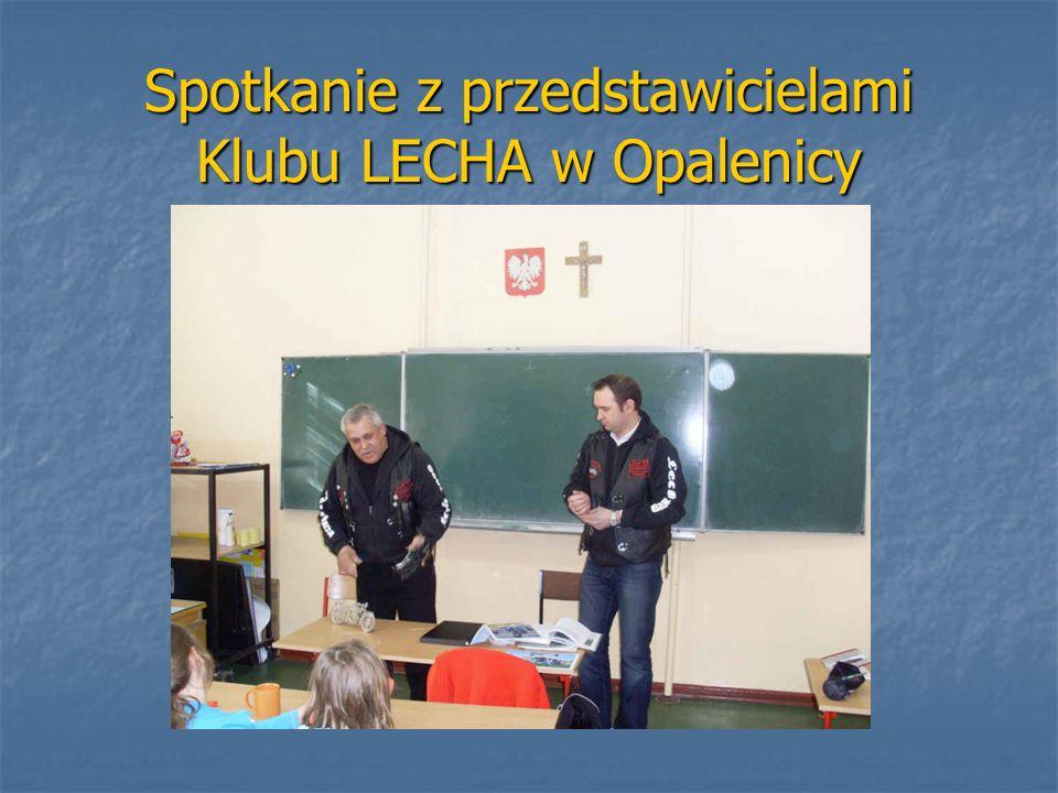Spotkanie z przedstawicielami Klubu LECHA w Opalenicy
