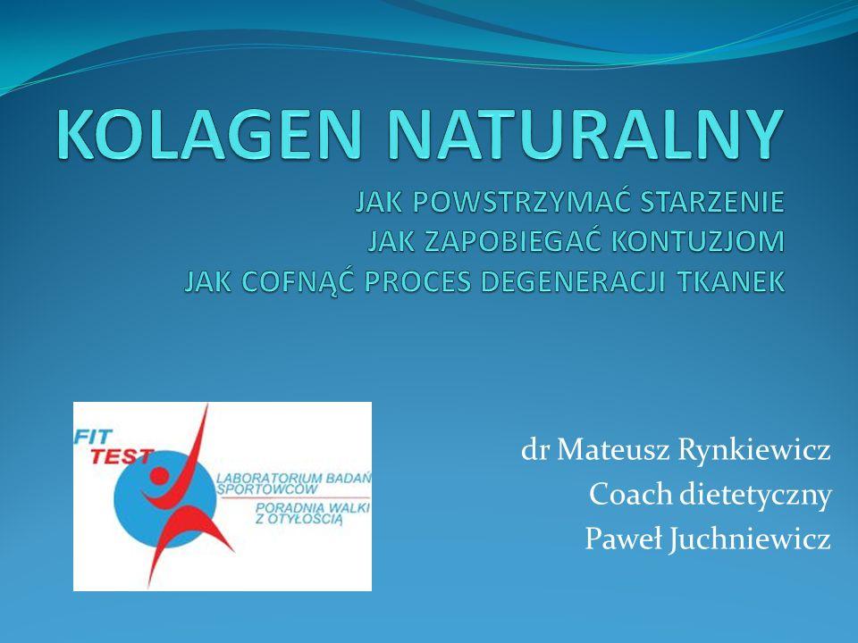 dr Mateusz Rynkiewicz Coach dietetyczny Paweł Juchniewicz