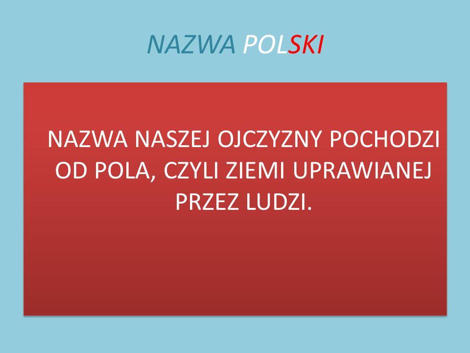 PAŃSTWO POLAN Na ziemiach polskich przed wiekami mieszkały różne plemiona.