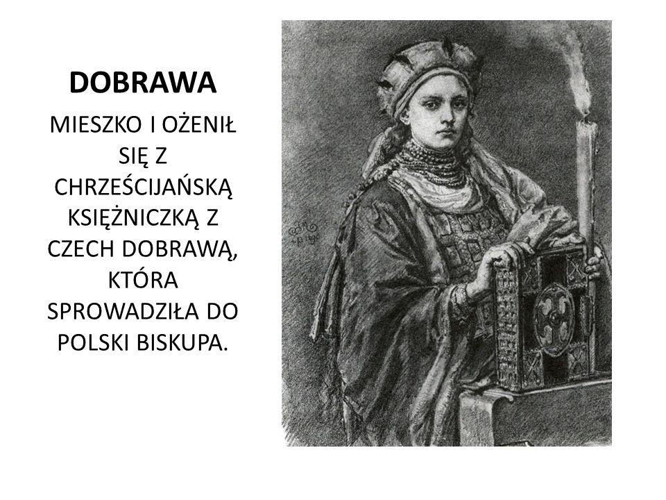 CHRZEST MIESZKA BISKUP JORDAN OCHRZCIŁ POLSKIEGO KSIĘCIA 14.